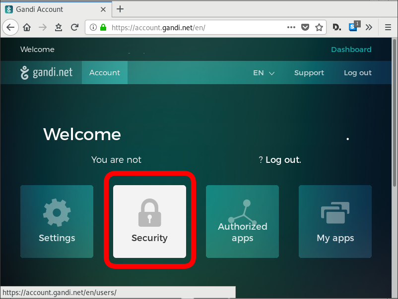 Gandi Security